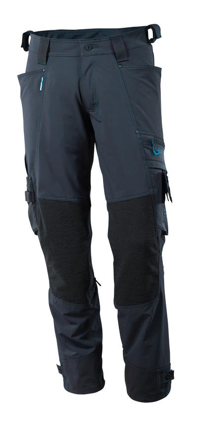 MASCOT® ADVANCED - Schwarzblau - Hose mit Dyneema® Knietaschen, Vier-Wege-Stretchstoff, geringes Gewicht