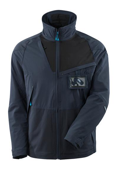 MASCOT® ADVANCED - Schwarzblau/Schwarz - Jacke, Vier-Wege-Stretchstoff, geringes Gewicht