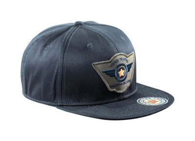 MASCOT® Bayville - Schwarzblau - Cap mit Ventilationslöchern, regulierbar, mit Bestickung