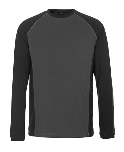 MASCOT® Bielefeld - Dunkelanthrazit/Schwarz - T-Shirt