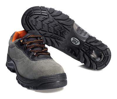 MACMICHAEL® Bishorn - Anthrazit/Schwarz - Sicherheitshalbschuh S1P mit Schnürsenkeln