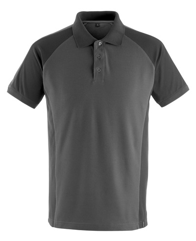 MASCOT® Bottrop - Dunkelanthrazit/Schwarz - Polo-Shirt