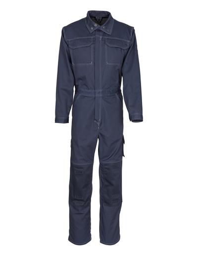MASCOT® Danville - Schwarzblau - Overall mit Knietaschen, Baumwolle