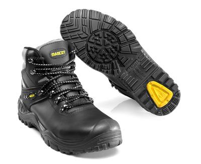 MASCOT® Elbrus - Schwarz/Gelb - Sicherheitsstiefel S3 mit Schnürsenkeln