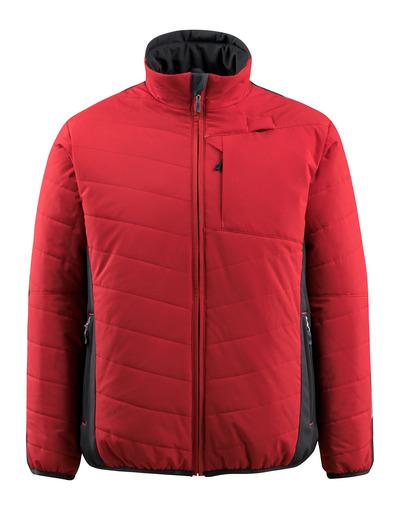 MASCOT® Erding - Rot/Schwarz - Jacke mit Futter, wasserabweisend, hohe Isolierungsfähigkeit