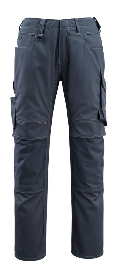 MASCOT® Erlangen - Schwarzblau - Hose mit CORDURA® Knietaschen, hohe Strapazierfähigkeit