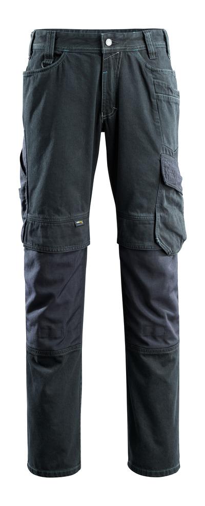 MASCOT® Ferrol - Dunkelblauer Denim - Jeans mit Knietaschen, ekstra strapazierfähig