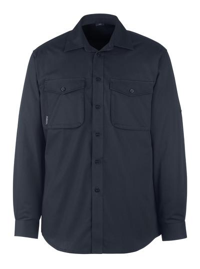 MASCOT® Greenwood - Schwarzblau - Hemd