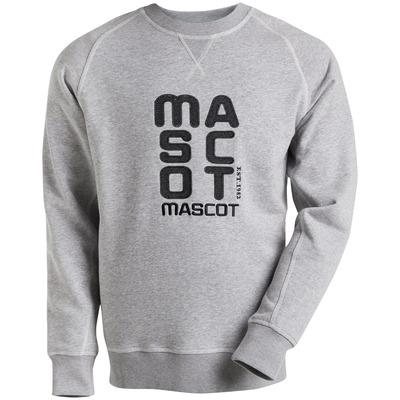 MASCOT® HARDWEAR - Grau-meliert - Sweatshirt mit MASCOT Bestickung, moderne Passform