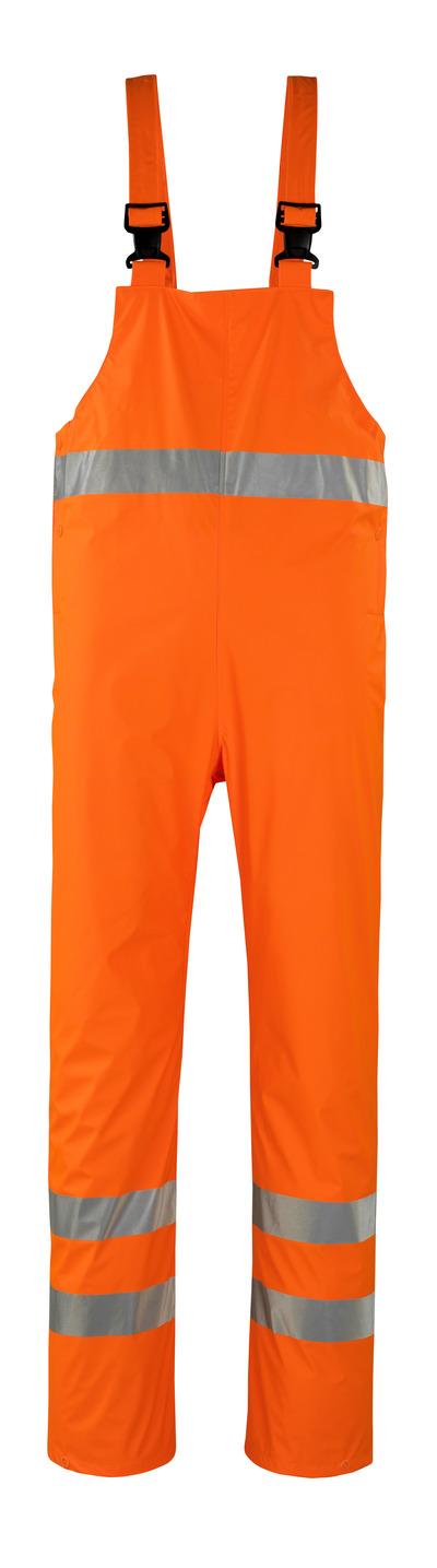 MASCOT® Hartberg - hi-vis Orange* - Regenlatzhose, wind- und wasserdicht, Klasse 2