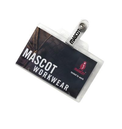 MASCOT® Kananga - Transparent - ID-Kartenhalter in kräftigem Plastik