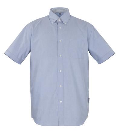 MASCOT® Lamia - Oxford Blau* - Hemd, Kurzarm