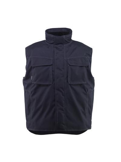 MASCOT® Lexington - Schwarzblau* - Winterweste mit Kunzstpelzfutter, wasserabweisend
