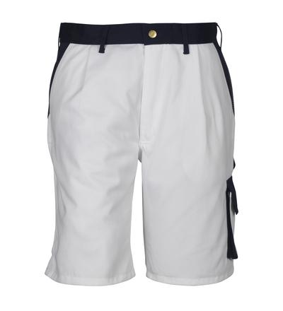MASCOT® Lido - Weiß/Marine*/¹) - Shorts, hohe Strapazierfähigkeit