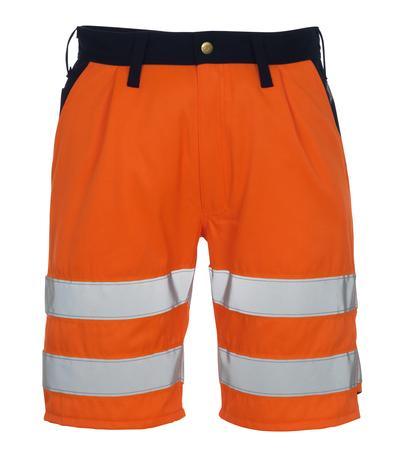 MASCOT® Lido - hi-vis Orange/Marine* - Shorts, Klasse 1/2