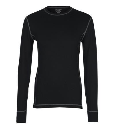 MASCOT® Logrono - Schwarz - Funktionsunterhemd, feuchtigkeitstransportierend, isolierend