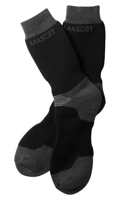 MASCOT® Lubango - Schwarz/Dunkelanthrazit - Socken