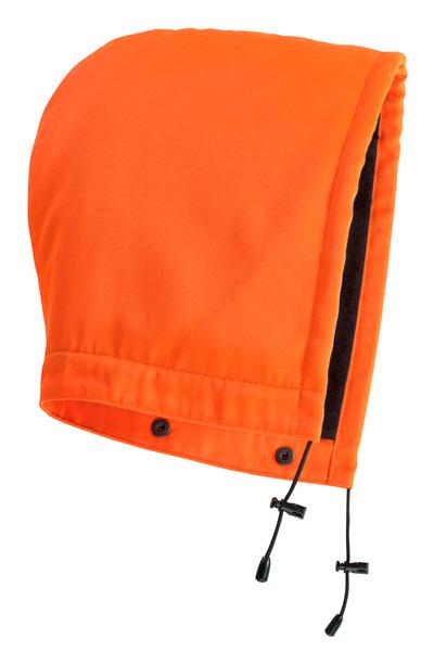 MASCOT® MacAllen - hi-vis Orange - Kapuze mit Druckknöpfen und Futter, wasserabweisend