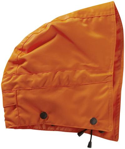 MASCOT® MacCall - hi-vis Orange - Kapuze mit Druckknöpfen