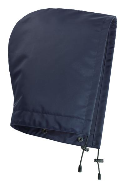 MASCOT® MacKlin - Marine - Kapuze mit Druckknöpfen und Futter, wasserdicht