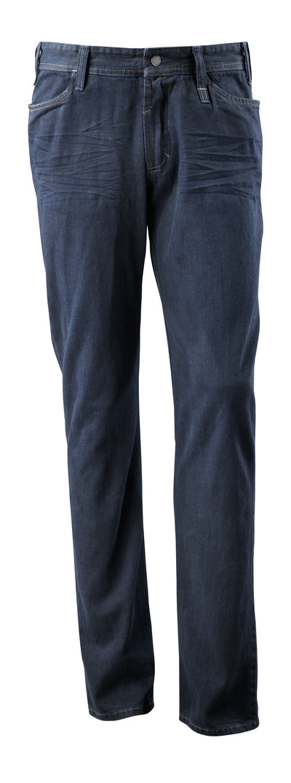MASCOT® Manhattan - Gewaschener dunkelblauer Denim¹) - Jeans