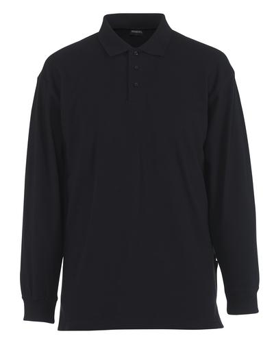 MASCOT® Manila - Graphitblau - Polo-Shirt, moderne Passform, lange Ärmel