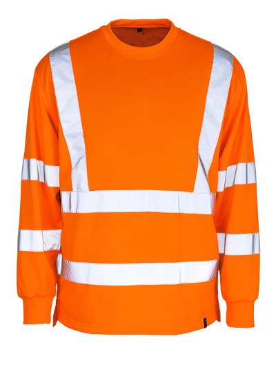 MASCOT® Melita - hi-vis Orange - Sweatshirt, großzügige Passform, Klasse 3