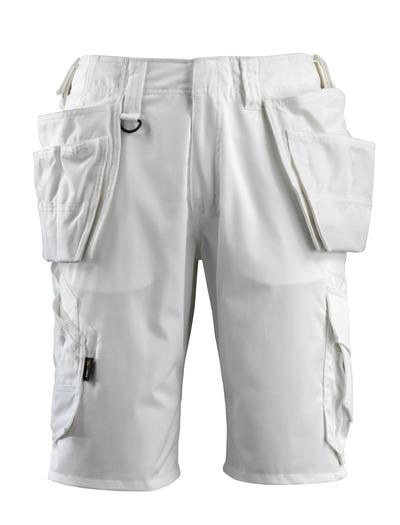 MASCOT® Olot - Weiß - Handwerkershorts
