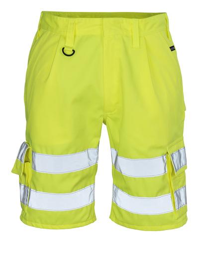 MASCOT® Pisa - hi-vis Gelb - Shorts, Klasse 1