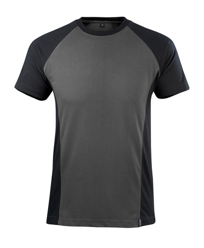 MASCOT® Potsdam - Dunkelanthrazit/Schwarz - T-Shirt
