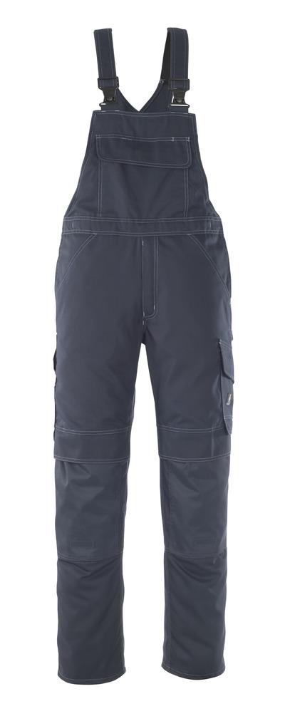 MASCOT® Richmond - Schwarzblau - Latzhose mit Knietaschen, geringes Gewicht