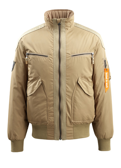 MASCOT® Riverdale - Khaki - Pilotjacke mit Steppfutter, wasserabweisend
