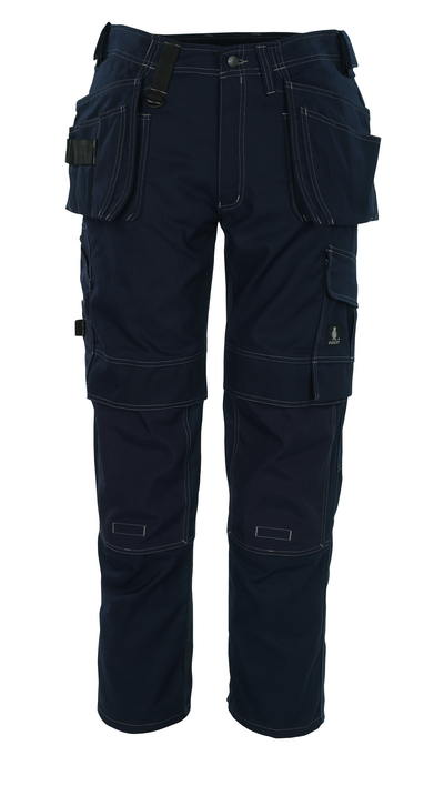 MASCOT® Ronda - Marine - Hose mit CORDURA®-Knietaschen und Hängetaschen, hohe Strapazierfähigkeit