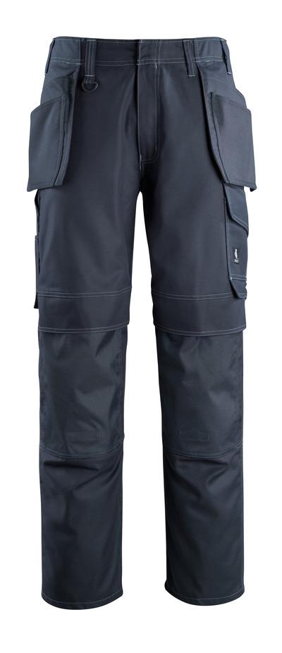 MASCOT® Springfield - Schwarzblau - Hose mit Knie- und Hängetaschen, geringes Gewicht