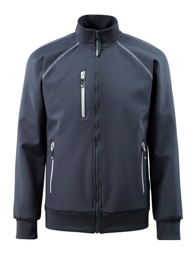MASCOT® Tamariu - Schwarzblau - Soft Shell Jacke, wasserabweisend, Stretch
