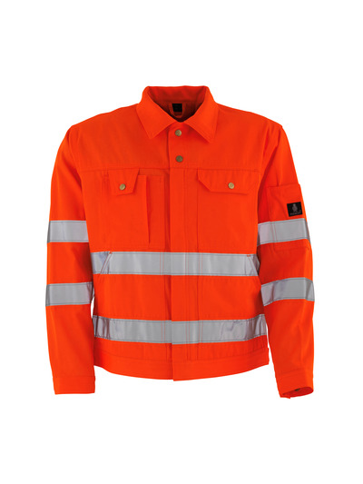 MASCOT® Texas - hi-vis Orange* - Jacke, hohe Strapazierfähigkeit, Klasse 2/2