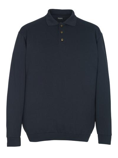 MASCOT® Trinidad - Schwarzblau - Polo-Sweatshirt, großzügige Passform