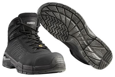 MASCOT® Trivor - Schwarz - Sicherheitsstiefel S3 mit Schnürsenkeln