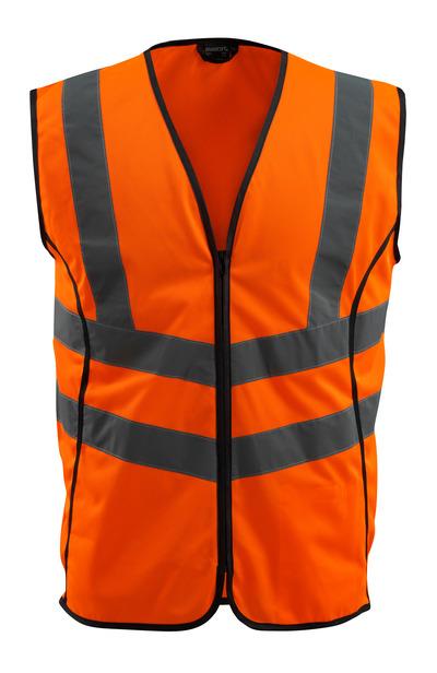 MASCOT® Wingate - hi-vis Orange - Warnweste mit Reißverschluss, Klasse 2