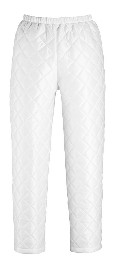 MASCOT® Winnipeg - Weiß - Thermohose mit Regulierung am Beinabschluss